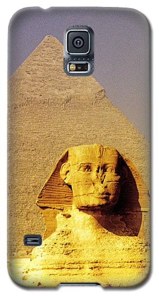 Sphinx And Pyramid Galaxy S5 Case