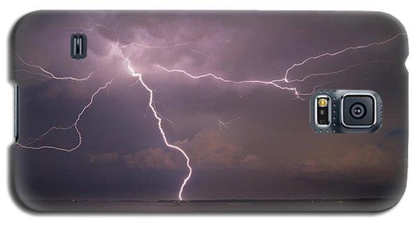 Spider Lightning Over Charleston Harbor Galaxy S5 Case