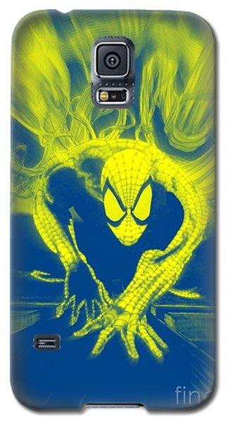 Spider-man Y B Blast Galaxy S5 Case by Justin Moore