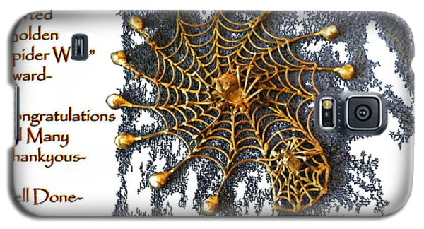 Spider Web Congratulation Thank You Well Done Galaxy S5 Case