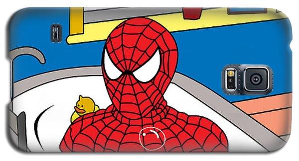 Superhero Galaxy S5 Case - Spiderman  by Mark Ashkenazi