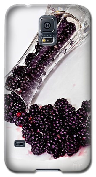 Spilt Blackberries Galaxy S5 Case