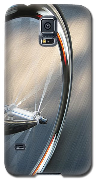 Bicycle Galaxy S5 Case - Spin by Jeff Klingler