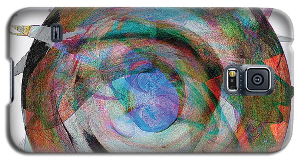 Galaxy S5 Case featuring the digital art Spin One by David Klaboe