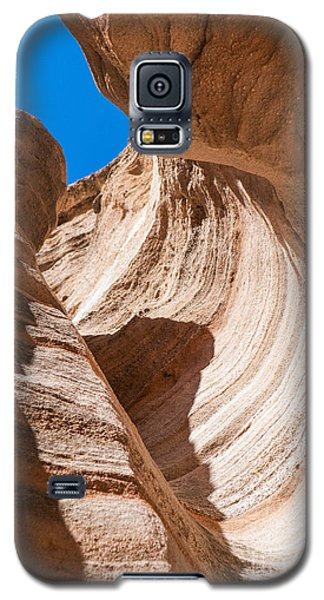 Spiral At Tent Rocks Galaxy S5 Case by Roselynne Broussard