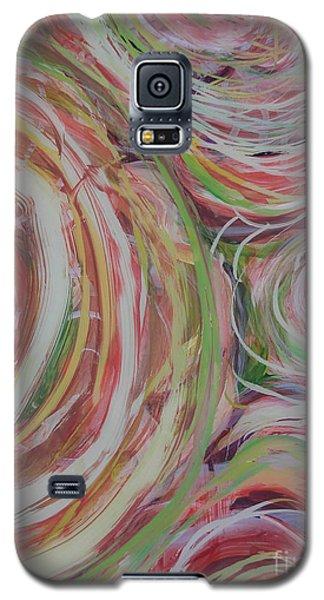 Spiral Bouquet Galaxy S5 Case