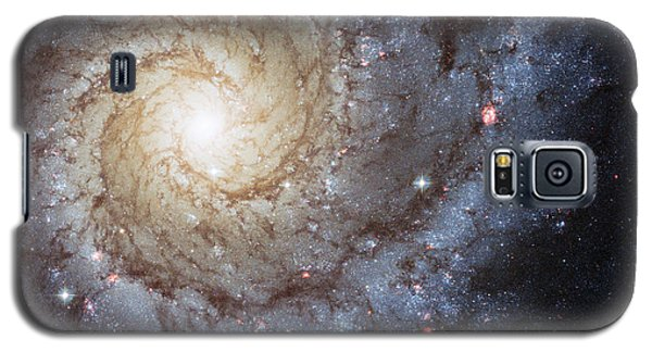 Spiral Galaxy M74 Galaxy S5 Case by Adam Romanowicz