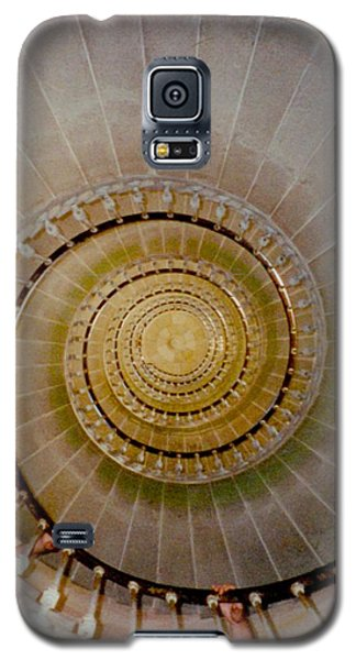 Spirale Du Phare Des Baleines Version Carree Galaxy S5 Case by Marc Philippe Joly