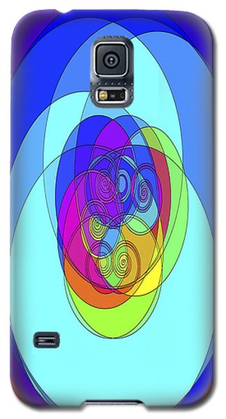 Galaxy S5 Case featuring the digital art Spirals - Phone Case Design by Gregory Scott
