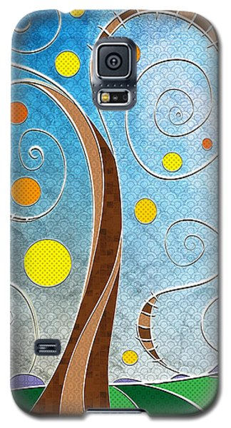 Spiralscape Galaxy S5 Case by Shawna Rowe