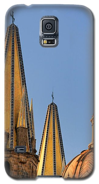 Spires And Dome - Cathedral Of Guadalajara Mexico Galaxy S5 Case by David Perry Lawrence