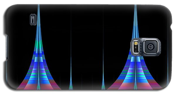 Galaxy S5 Case featuring the digital art Spires by GJ Blackman