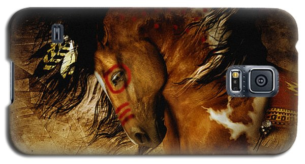 Spirit Horse Galaxy S5 Case by Shanina Conway