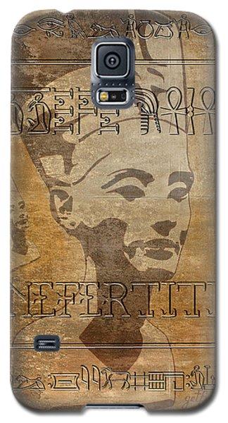Spirit Of Nefertiti Egyptian Queen   Galaxy S5 Case