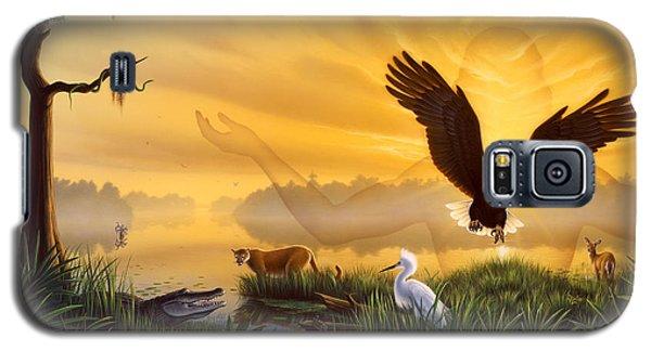 Egret Galaxy S5 Case - Spirit Of The Everglades by Jerry LoFaro