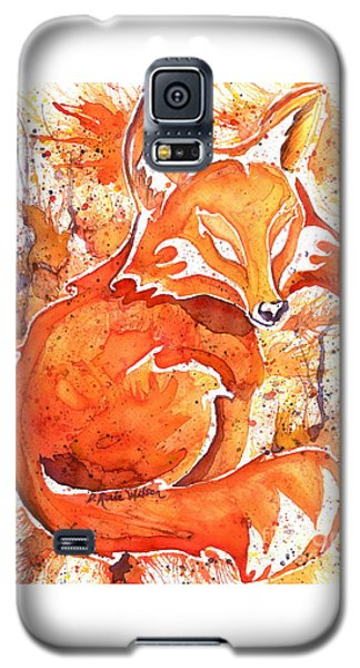 Spirit Of The Fox Galaxy S5 Case by D Renee Wilson