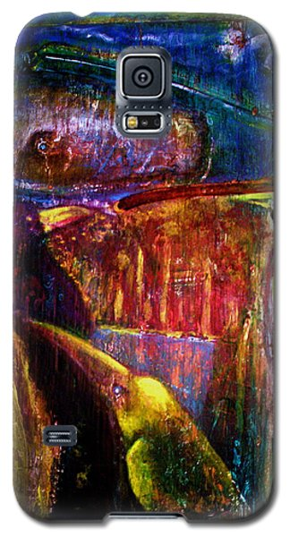 Spirit Of The Jungle Whale2 Galaxy S5 Case by Kicking Bear  Productions