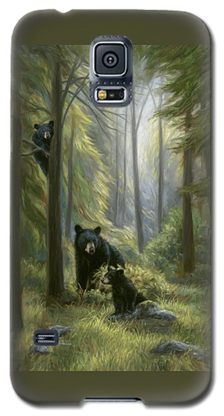 Bear Galaxy S5 Case - Spirits Of The Forest by Lucie Bilodeau