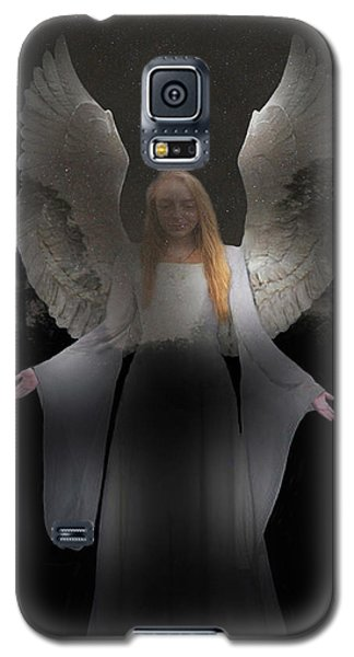 Galaxy S5 Case featuring the photograph Spiritual Angel by Eric Kempson