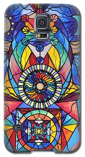 School Galaxy S5 Case - Spiritual Guide by Teal Eye Print Store