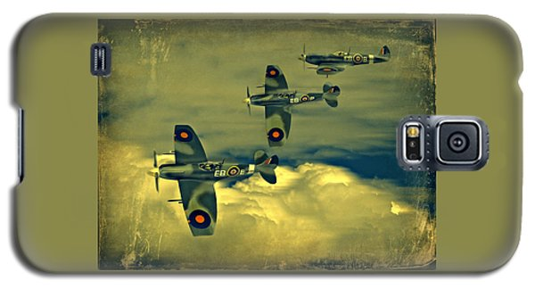 Spitfire Flight Galaxy S5 Case
