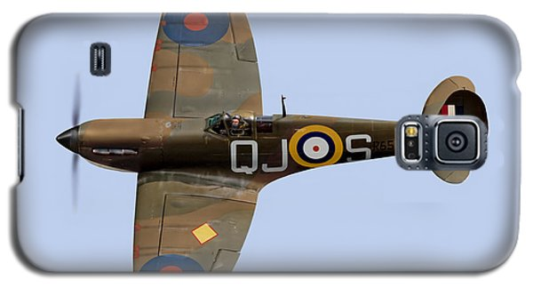 Spitfire Mk 1 R6596 Qj-s Galaxy S5 Case by Gary Eason