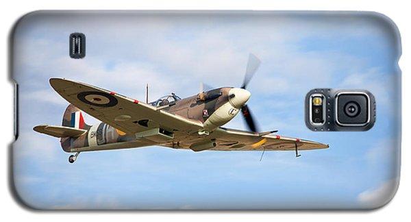Spitfire Mk5 Low Pass Galaxy S5 Case by Ian Merton