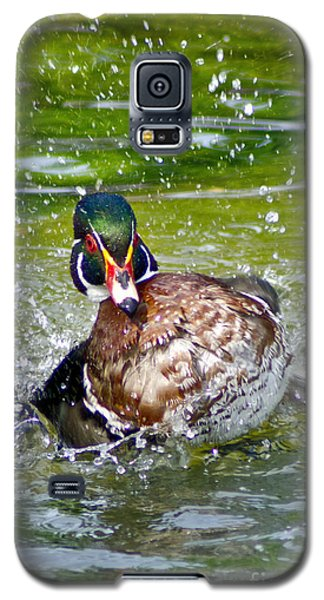 Splashdown - Wood Duck Galaxy S5 Case