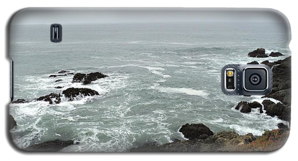Splashing Ocean Waves Galaxy S5 Case by Carla Carson