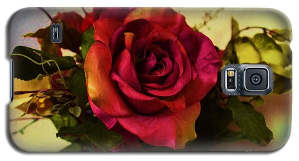 Splendid Painted Rose Galaxy S5 Case by Luther Fine Art