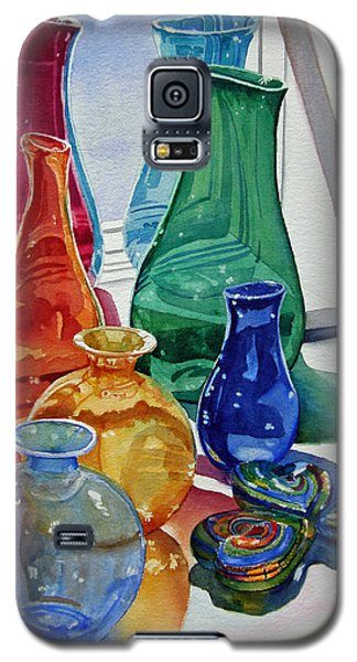Splendor In The Glass Galaxy S5 Case by Judy Mercer
