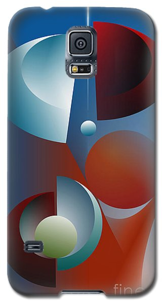 Galaxy S5 Case featuring the digital art Split Cycle by Leo Symon