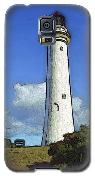 Split Point Lighthouse Galaxy S5 Case by Dennis Lundell