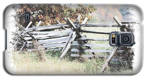 Split-rail Fence Gettysburg Galaxy S5 Case