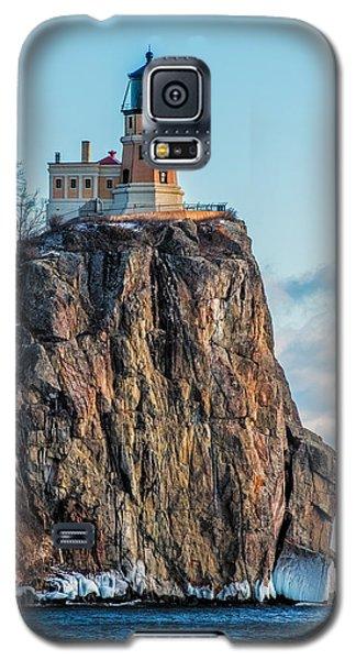 Split Rock Lighthouse In Winter Galaxy S5 Case by Paul Freidlund