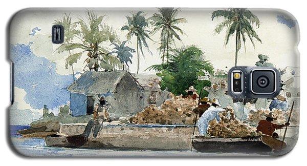 Sponge Fishermen Galaxy S5 Case