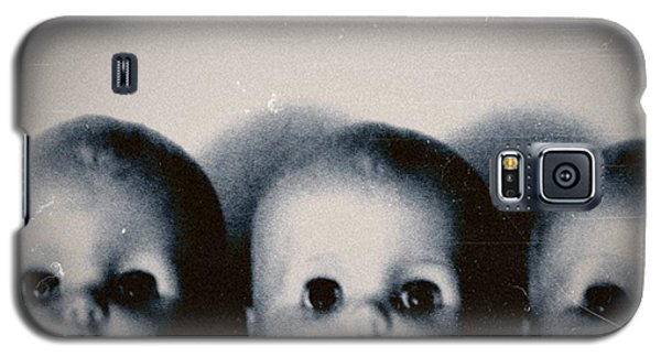Spooky Doll Heads Galaxy S5 Case