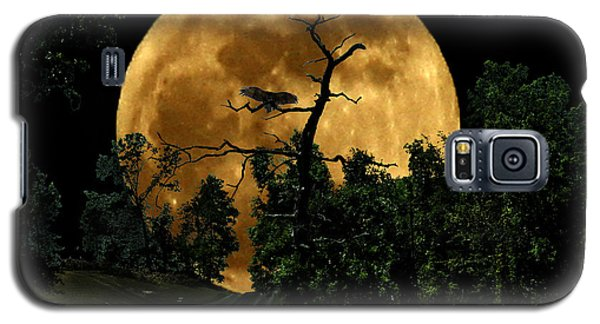 Spooky Road Galaxy S5 Case