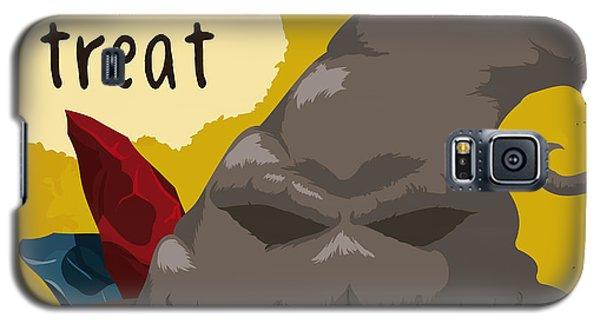 Wizard Galaxy S5 Case - Spooky Smile Wizard Hat Poster, Vector by Penwin