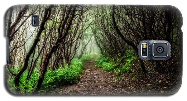 Spooky Trail Galaxy S5 Case