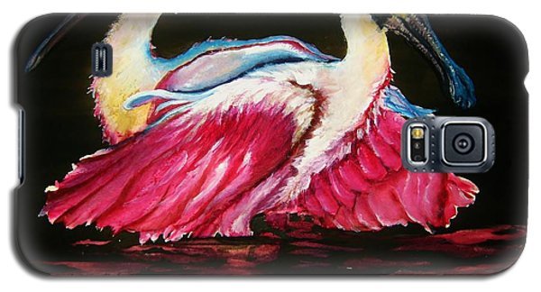 Galaxy S5 Case featuring the painting Spoon Dance Sold by Lil Taylor