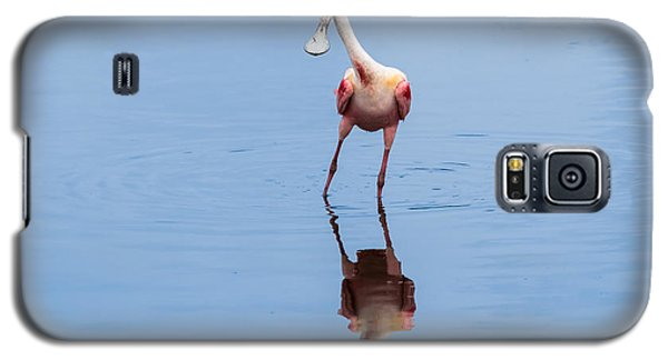 Galaxy S5 Case featuring the photograph Spoonie Striking A Pose by John M Bailey
