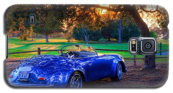 Sports Car Golf Course Sunset Galaxy S5 Case