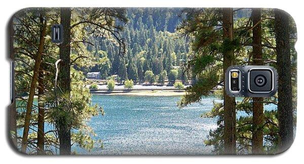 Forrest Mountain Trees Lake Scenic Photography Lake Gregory San Bernardino California - Ai P. Nilson Galaxy S5 Case