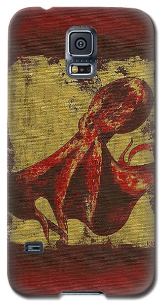 Spotted Red Octopus Galaxy S5 Case