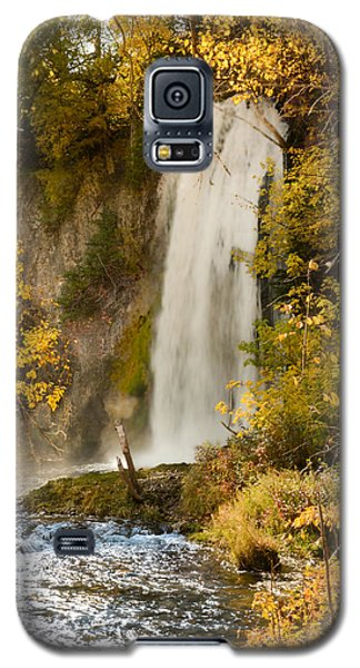 Spray Rises From Spearfish Falls Galaxy S5 Case