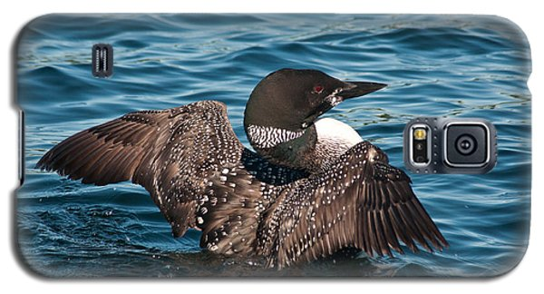 Galaxy S5 Case featuring the photograph Spreading My Wings by Brenda Jacobs