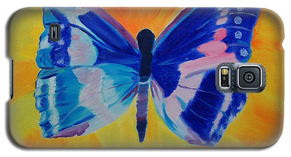 Galaxy S5 Case featuring the painting Spreading My Wings by Meryl Goudey
