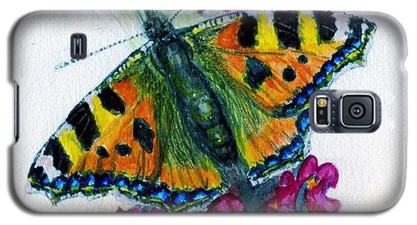 Spreading Wings Of Colour Galaxy S5 Case