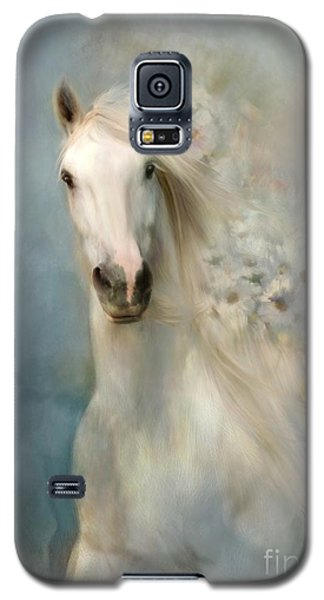 Galaxy S5 Case featuring the digital art Spring Arrival by Dorota Kudyba